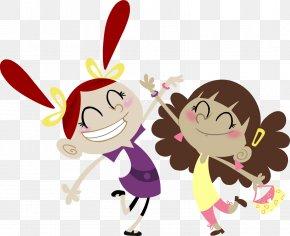 Best Friends Cartoon Images - Best Friends Forever Cartoon Desktop Wallpaper Clip Art PNG