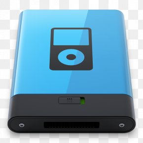 Blue IPod B - Electronic Device Ipod Multimedia Electronics Accessory PNG