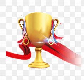 Gold Trophy - Trophy Medal Gold Icon PNG