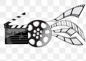 Film Elements - Cinema Clapperboard Film PNG
