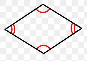 Rhombus - Rhombus Quadrilateral Parallelogram Definition Geometry PNG