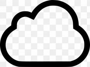 Snow Cloud Icon - Clip Art Computer File PNG