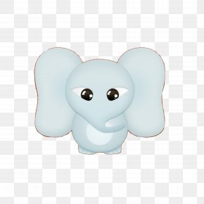 Cartoon Baby Elephant - Cartoon Elephant Download PNG