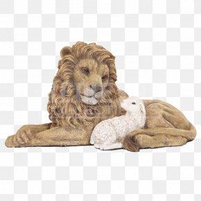 Lion - Lion Sheep Statue Figurine Sculpture PNG
