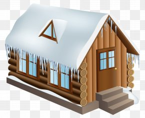 Winter Cabin - Snow House Winter PNG