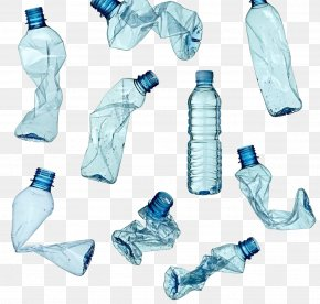 Recycled Plastic Bottles - Plastic Bottle Recycling Waste PNG