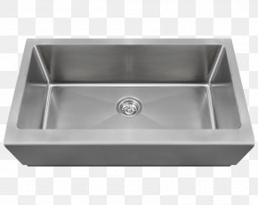 Sink - Sink Stainless Steel Kitchen Bowl Brushed Metal PNG