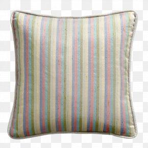 Striped Material - Throw Pillows Cushion Textile Linen PNG