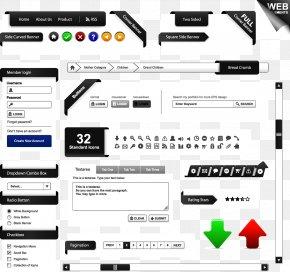 Web Design - Web Development Web Design Framing Navigation Bar PNG