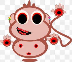 Monkey - Ape Monkey Japanese Macaque Clip Art PNG