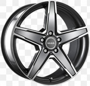Mak - Car Alloy Wheel Metal Stern PNG
