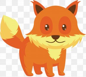 Daomeng Cartoon Small Fox - Red Fox Dog Whiskers PNG