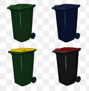 Trash Can - Waste Container Recycling Bin Paper PNG