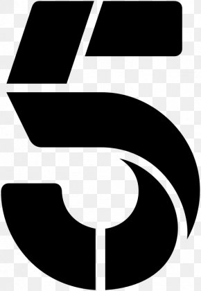 Five Vector - Channel 5 5USA Television Channel Broadcasting PNG