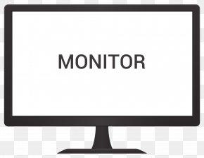 Monitor Vector - Computer Monitor Logo PNG