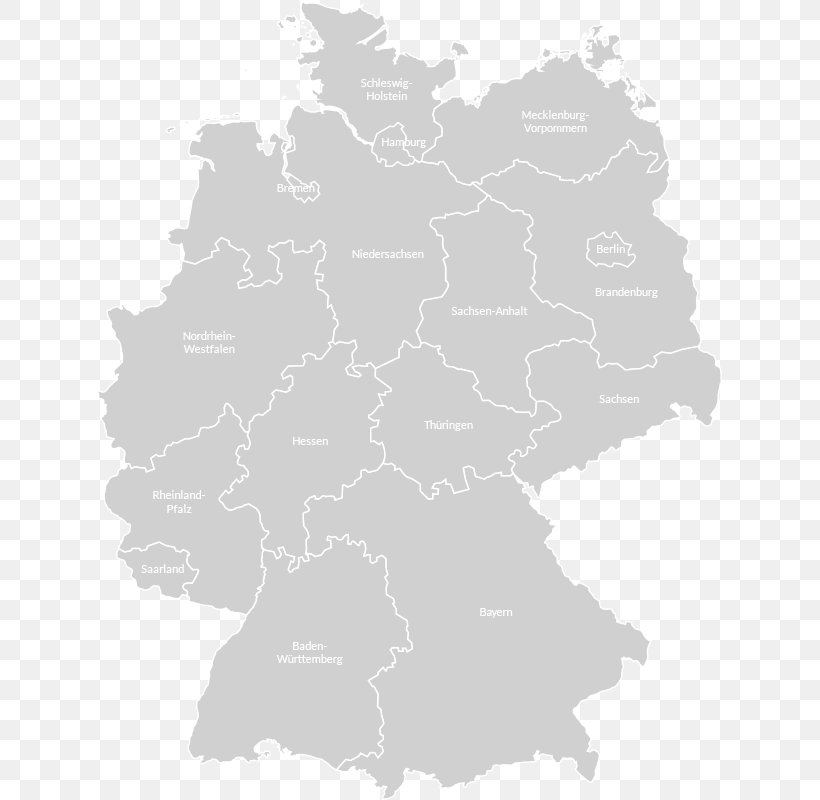 Germany Blank Map Geography Royalty-free, PNG, 625x800px ...