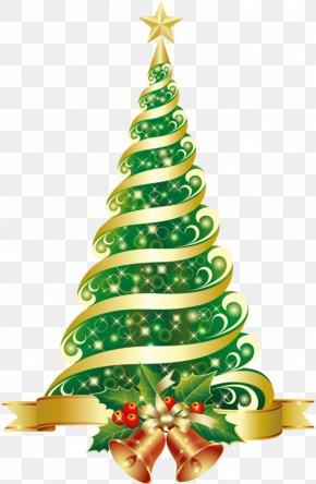 Christmas Tree - Clip Art Christmas Tree Christmas Day Christmas Ornament Santa Claus PNG