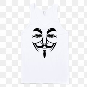 Mask - Guy Fawkes Mask Guy Fawkes Night Anonymous T-shirt PNG