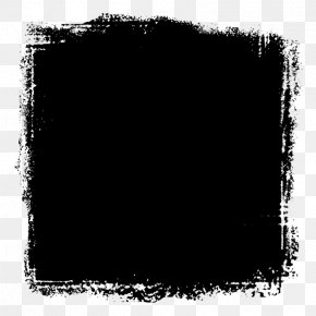 Picture Frame Blackandwhite - Picture Frame PNG