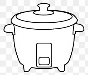 Rice Cliparts Outline - Rice Cookers Clip Art PNG
