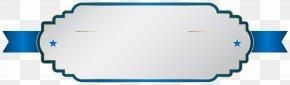 White Blue Label Clip Art Image - Label Clip Art PNG