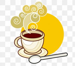 Coffee,Mug - Coffee Cup Caffxe8 Americano Cafe Breakfast PNG