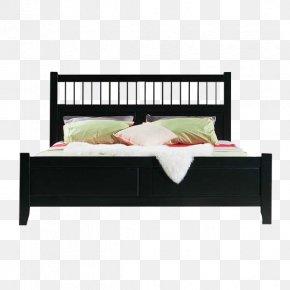 Black Queen Design Elements - Bed Frame Table Furniture PNG
