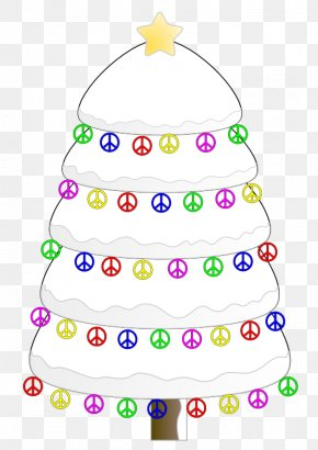 Signs Tree - Clip Art Christmas Day Free Content Image Christmas Tree PNG
