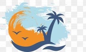 Palm Beach Vector - Euclidean Vector Icon PNG
