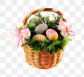 Easter Basket With Eggs - Kosmitas Personal Home Services Cosmetics Perfume Alt Attribute PNG
