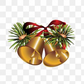 Christmas Bells - New Year Christmas Clip Art PNG
