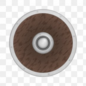Picture Of A Shield - Round Shield Viking Clip Art PNG