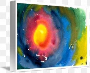 Paint - Acrylic Paint Still Life Watercolor Painting Modern Art Desktop Wallpaper PNG
