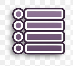 Label Rectangle - List Icon PNG