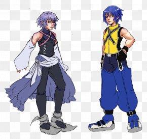 Aqua Kingdom Hearts - Kingdom Hearts III Aerith Gainsborough Riku Aqua PNG