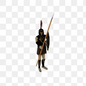 Ancient Warrior - Shield Spear Weapon Ancient History Soldier PNG