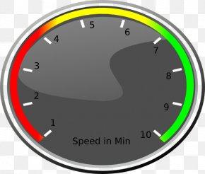 Speedometer Vector - Car Speedometer Odometer Clip Art PNG