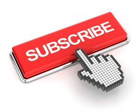 Subscribe - Stock Photography Button Royalty-free PNG