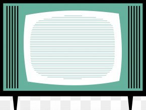 Vintage TV Cliparts - Television Set Free-to-air Clip Art PNG