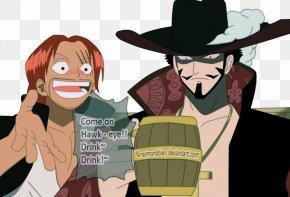 Answers - Dracule Mihawk Roronoa Zoro Shanks Monkey D. Luffy One Piece PNG