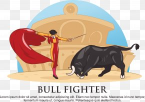 Bull Mouse - Spanish Fighting Bull Bullfighting Clip Art PNG