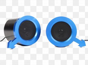 Blue Speaker Combination - Audio Equipment Sound Audio Electronics Loudness PNG