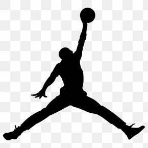 Michael Jordan - Jumpman Air Jordan Logo Nike Swoosh PNG