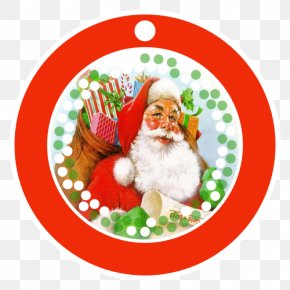 Buon NataleParler De Code Pour Moi - Christmas Day Santa Claus Christmas Ornament Ded Moroz AA.VV. PNG