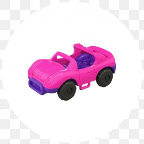 Toy - Model Car Polly Pocket Mattel Toy Doll PNG