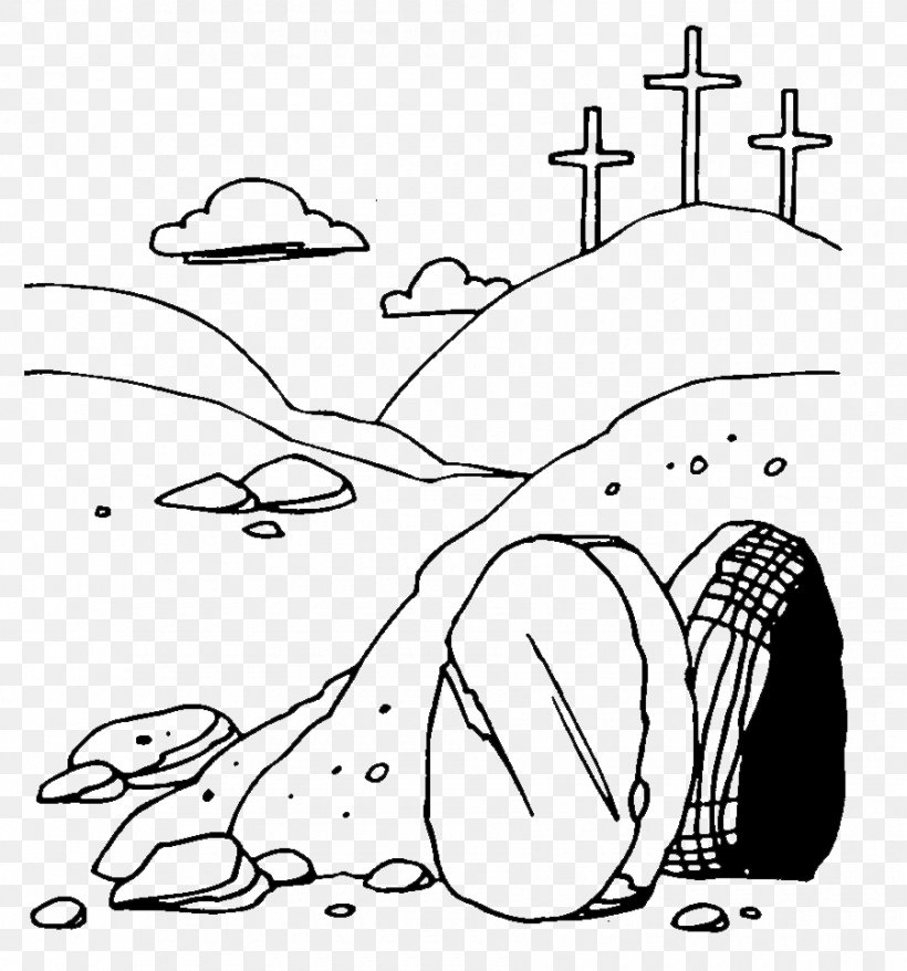Empty Tomb Tomb Of Jesus Resurrection Of Jesus Coloring Book ...