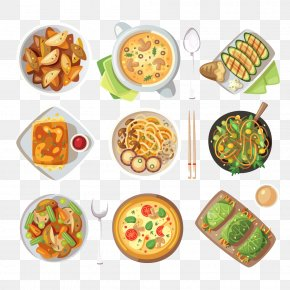 Pizza And Other Western Cuisine - Indian Cuisine Vegetarian Cuisine Italian Cuisine Thai Cuisine Clip Art PNG