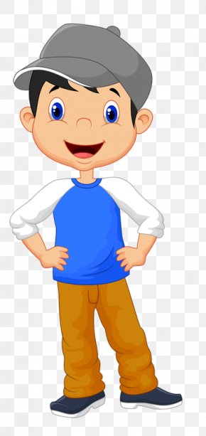 Hat Boy - Boy Cartoon Child Clip Art PNG