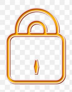 Yellow Security Icon - Close Icon Key Icon Lock Icon PNG