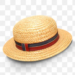 Hat - Straw Hat Computer File PNG